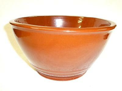 Early Vintage 1988 C N NED FOLTZ Pennsylvania Redware POTTERY BOWL Large
