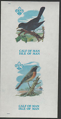 Calf of Man (1464) - 1973 BIRDS 1st Issue imperf m/sheet unmounted mint