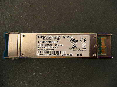 Extreme Networks LR XFP Module 10GBIT 1310nm PN 4050-00025-01