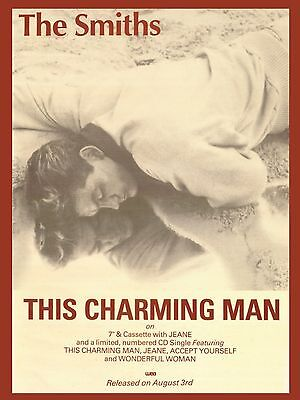 """The Smiths THIS CHARMING MAN 16"""" x 12"""" Photo Repro Promo  Poster 2"""