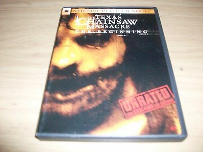 Horror Movie: Texas Chainsaw Massacre: The Beginning!! Used & In Excellent Cond!