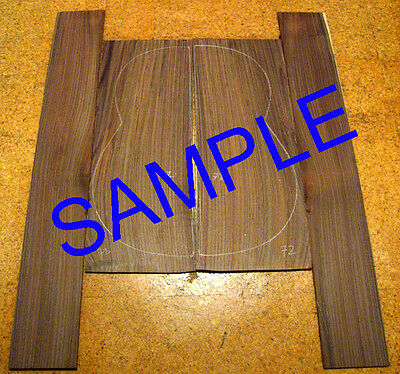 AA Indian Rosewood Backs and Sides Set, Jumbo Guitar, Luthier, Back and Side