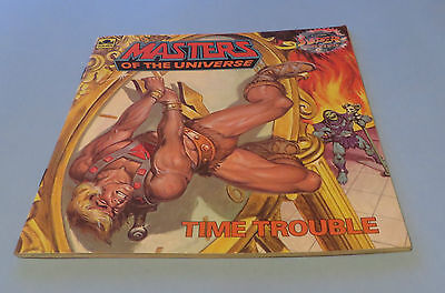 1983-84 Masters Of The Universe Caverns Of Fear & Time Trouble Illustrated Book