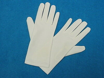 #G39 Light Ivory MATTE NO SHINE Wrist-length Formal Bridal Gloves - 8.75 inches