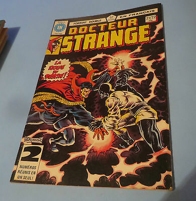 1981 Docteur Strange  Comic #21-22 French Edition Héritage Comics $2.00 Shipping