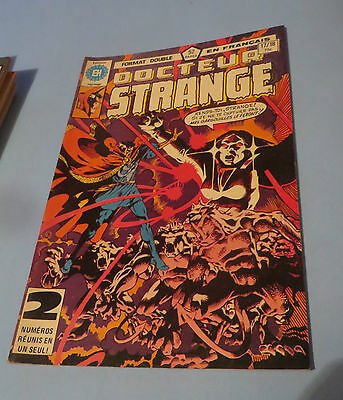 1980 Docteur Strange Comic #17-18 French Edition Héritage Comics $2.00 Shipping