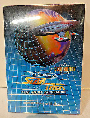 1994 Star Trek The Making of The Next Generation Gold Edition Trading Cards Set