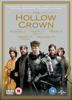 The Hollow Crown: Series 1 and 2 DVD (2016) Ben Whishaw cert 15 7 discs