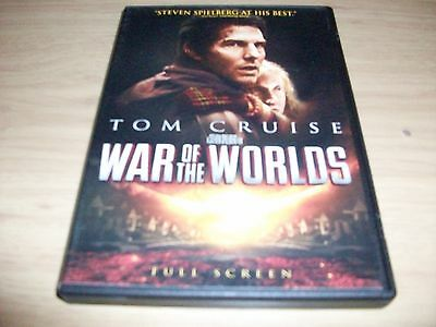 Sy Fy Movie: War Of The Worlds!! Used & In Excellent Condition! Tom Cruise!!!