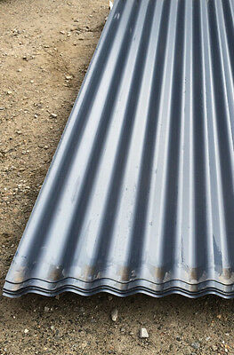 Clearance Colorbond Deep Ocean Corrugated 2100mm Roofing Sheets 1307