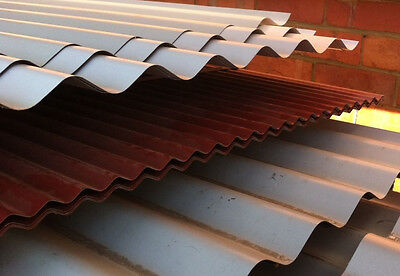 Clearance Colorbond Manor Red Mini Corrugated 3300mm Roofing Sheets 1313