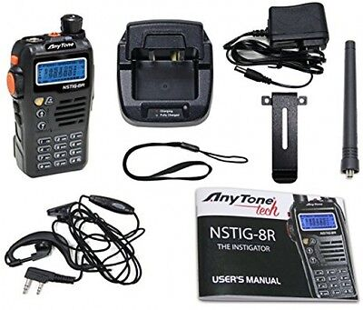 Radio Transceiver Two Way Commercial Portable Dual Band Amateur Ham Transmit