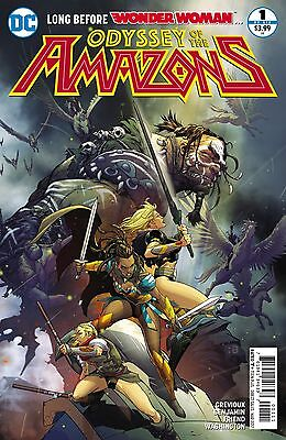 Odyssey Of The Amazons #1 (Of 6) Comic Book 2017 - DC