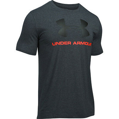 Under Armour Charged Cotton Sportstyle Logo T-Shirt black fire 1257615-015 Sport