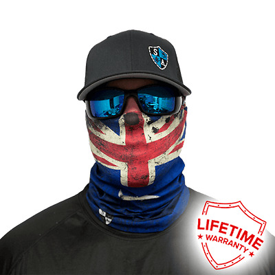 MOTORCYCLE FACE MASK - AUSTRALIAN FLAG - (Moto, Fishing, Paintball) - SPECIAL!
