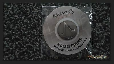 Lootcrate Exclusive Dec 2016 Revolution Assassins Creed LootPin