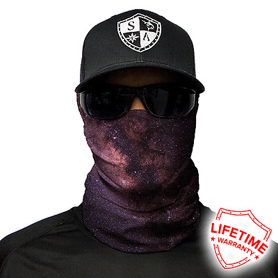MOTORCYCLE FACE MASK - THE GALAXY DESIGN - (Moto, Hunting, Fishing, Paintball)