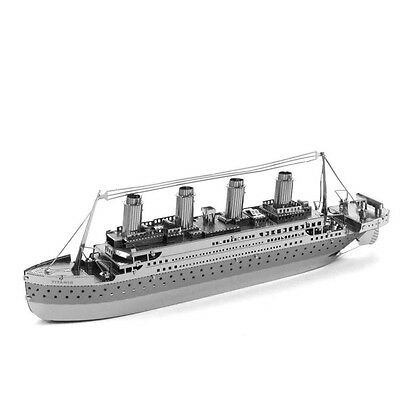 The Titanic Ship Museum Quality 3D Laser Cut Model Kit New In Package