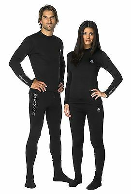 Waterproof Bodytec Unisex Single Layer Warm Fleece Thermals Top and Trousers