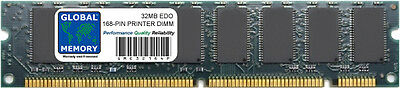 32Mb Edo 168-Pin Dimm Printer Memory Ram ( Sharp , C6252A )
