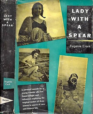 1953 Shark Lady Tropical Fish Middle East Africa Illustrated Dust Jacket