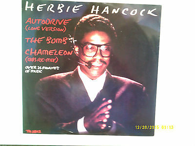 "Herbie Hancock Autodrive / Chameleon Remix 12"" Single 1983 N/mint"