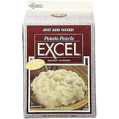 Potato Pearls Excel Mashed Potatoes - 3.37 lb. New
