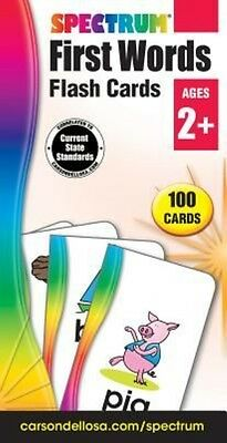 First Words Flash Cards by Spectrum (English)