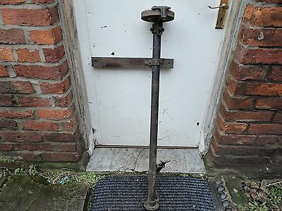 antique foot operated Travelling Blacksmith's Grinder Stone heyden allball