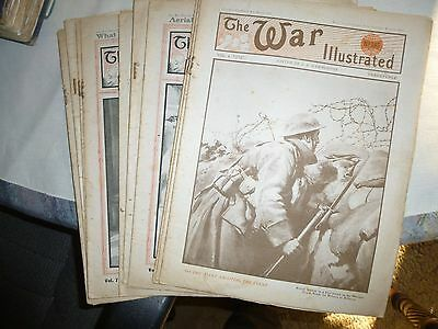The War Illustrated 1917-18.  10 copies.