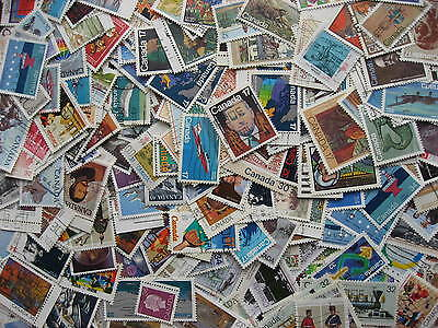CANADA collection 200 different U all 1980 to 1989 era! PLZ read descr