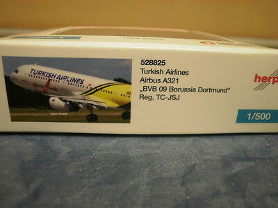 Herpa Wings 1:500 Airbus A 321 Turkish Airlines BVB 09 Borus