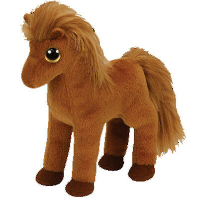 TY Beanie Baby - GALLOPS the Brown Horse (6 inch) - MWMTs Stuffed Animal Toy