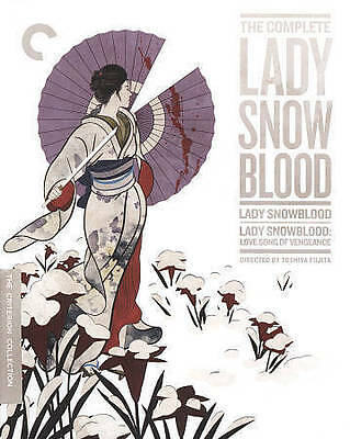 The Complete Lady Snowblood (Blu-ray Disc, 2016, Criterion Collection)