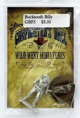 Knuckleduster GBF5 Gunfighter's Ball Bucktooth Billy the Kid Buck-Toothed Outlaw