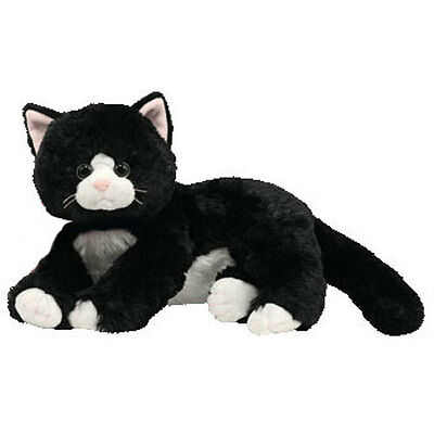 TY Classic Plush - SHADOW the Black Cat (12 inch) - MWMTs Stuffed Animal Toy