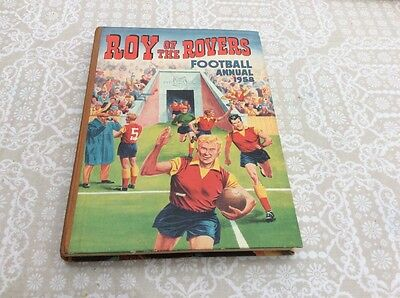 Roy of the Rovers Football Annual 1958