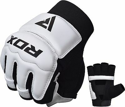 RDX MMA Training Grappling Gloves Fighting Wraps Boxing Punching Sparring UFC