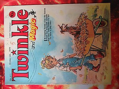 Twinkle  Comic No. 611. 6 October 1979. Fn.
