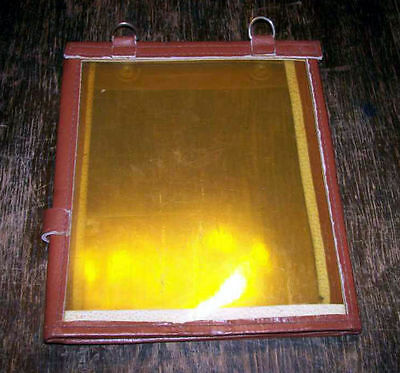 RUSSIAN RED ARMY Soviet army leather pilot map case (d)