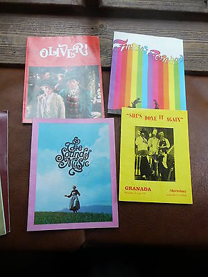 Musical Programmes Oliver Finians Rainbow Sound Of Music