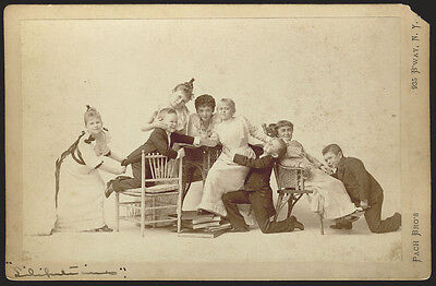 Rare Photo Humpty Dumpty Liliputians Lilliputian Dwarf Troupe Gulliver's Travels