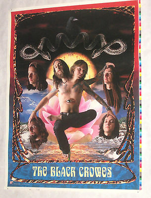 BLACK CROWES Three Snakes And One Charm 1 Full 19x25 Printer's Proof Poster