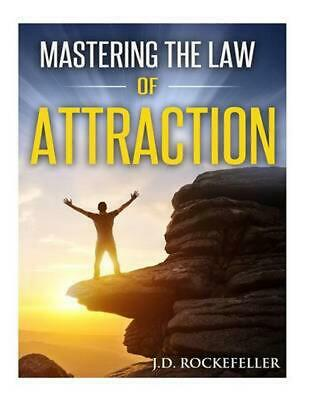 Mastering the Law of Attraction by J.D. Rockefeller (English) Paperback Book Fre