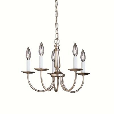 Kichler Salem Mini Chandelier 5Lt, Brushed Nickel - 1770NI
