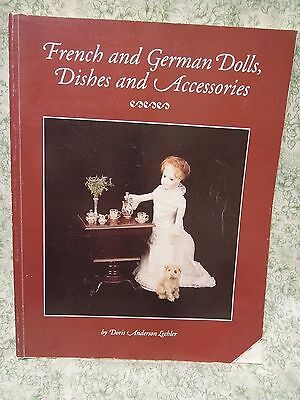 "Doll book, pb ""FRENCH & GERMAN Dolls, dishes & accessories  rm-275"