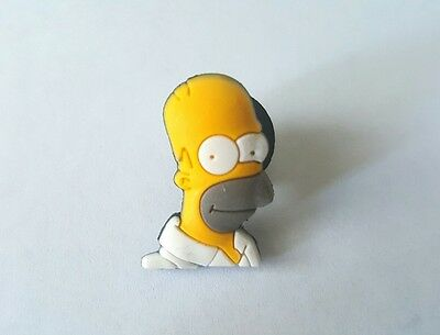 Homer Simpsons Shoe Button Charm for Crocs NEW