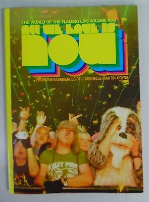 All We Have is Now - The World of the Flaming Lips Vol 1 * Book  * FREE SHIPPING