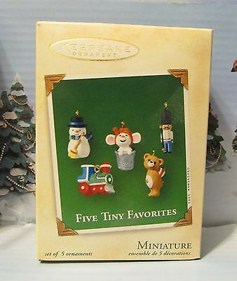 Five Tiny Favorites Hallmark Miniature 2002