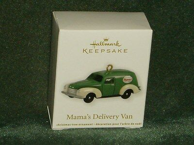 Hallmark 2012 Mama's Delivery Van - Nostalgic Houses Miniature Ornament - NEW
